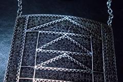 Sterling Silver Filigree Necklaces / Dimension 10.0 x 10.0 x 50 cm / NE 00047 Belgrade Fashion Week 2011