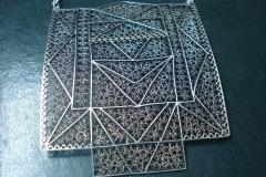 Sterling Silver Filigree Necklaces / Dimension 10.0 x 10.0 x 50 cm / NE 00045 Belgrade Fashion Week 2011