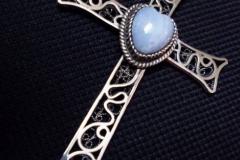 Sterling Silver Filigree Pendant / BRO 00013