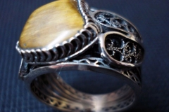 Sterling Silver Filigree Rings / RI 00011