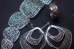 Sterling Silver Filigree Sets / SE 00005