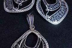 Sterling Silver Filigree Sets / SE 00014