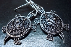 Sterling Silver Filigree Earrings Dimension 0 x 0 cm / EA 00015