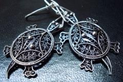 Sterling Silver Filigree Earrings Dimension 0 x 0 cm / EA 00015