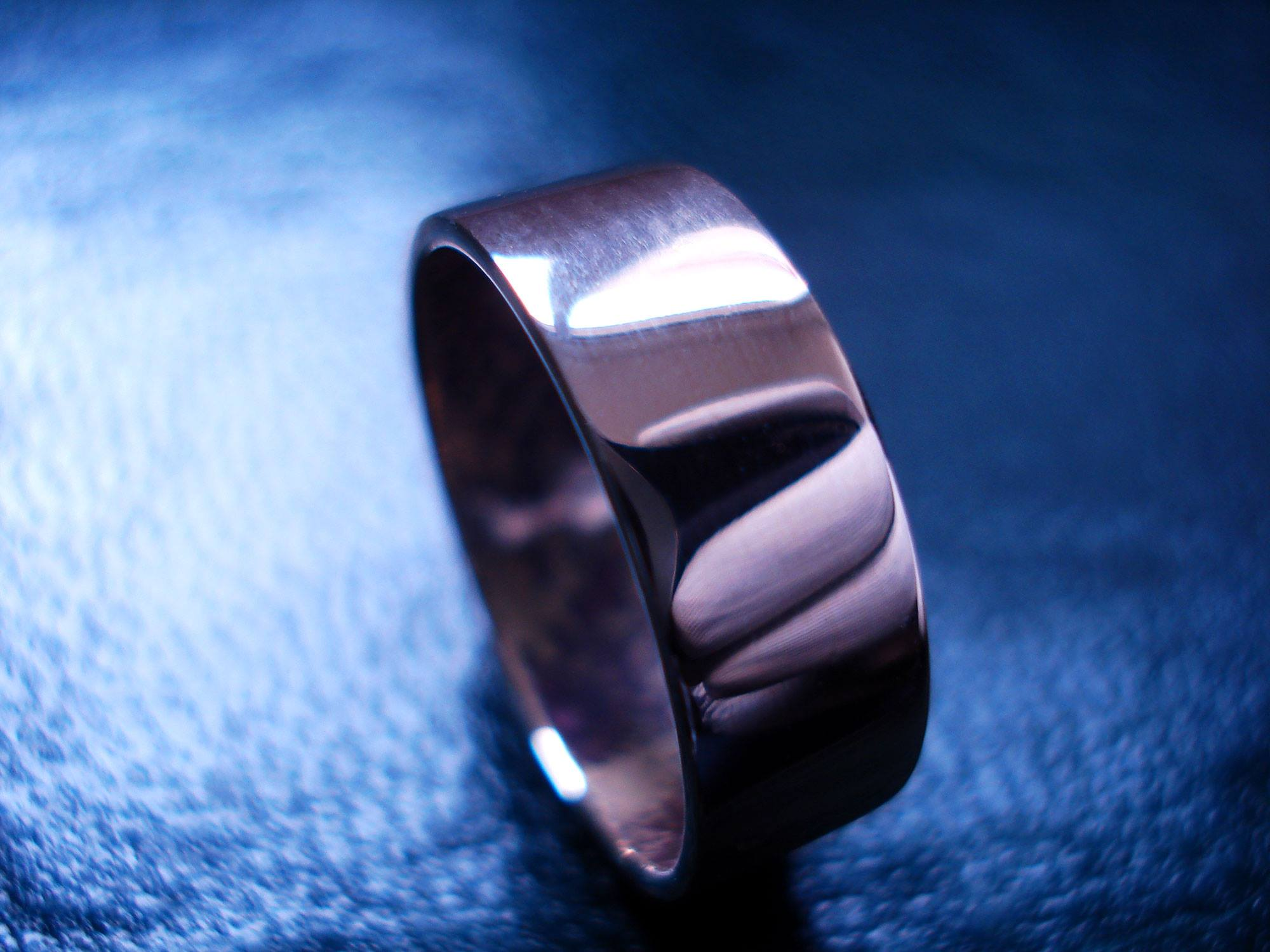 /Gold A+/ Gold 14K Ring / Dimension 1.0 cm x 6.0 cm