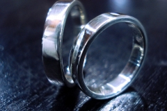 /AAA+/ Sterling Silver Rings / Dimension 6.0 x 0.2 cm