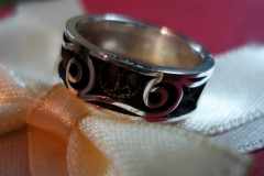 Sterling Silver Filigree Rings / RI 00000