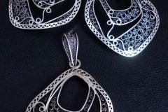 Sterling Silver Filigree Sets / SE 00014