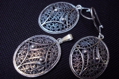 Sterling Silver Filigree Sets / SE 00010